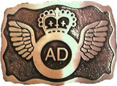 ADAA Belt Buckle